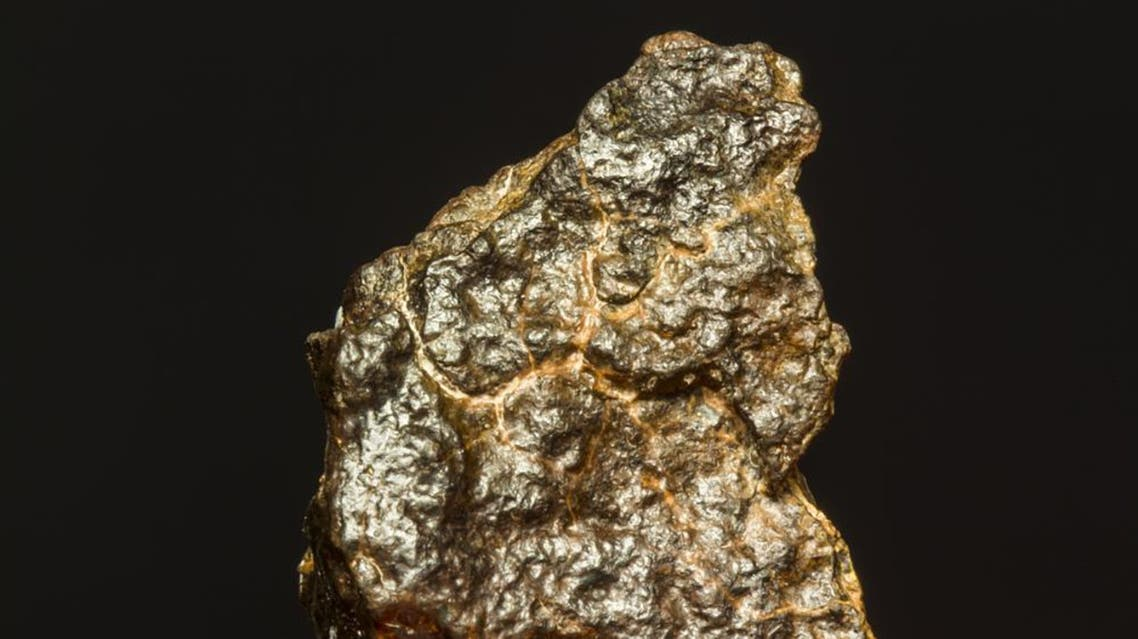 Fragments of a meteorite, which had struck earth on Wednesday in the southern White Nile state. (Shutterstock)