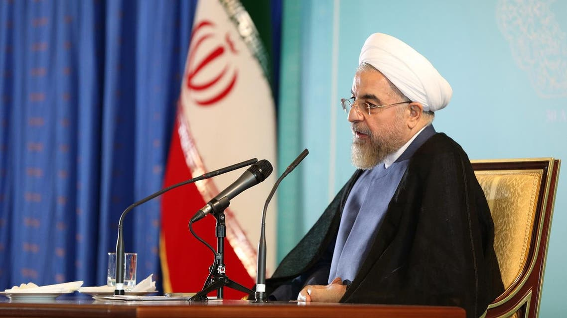 Iranian President Hassan Rouhani speaks during a press conference in Tehran on Aug. 30, 2014. (AP)