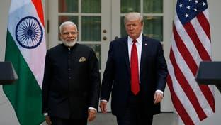 """ترمب: العلاقة مع الهند """"لم تكن يوماً أقوى وأفضل"""""""