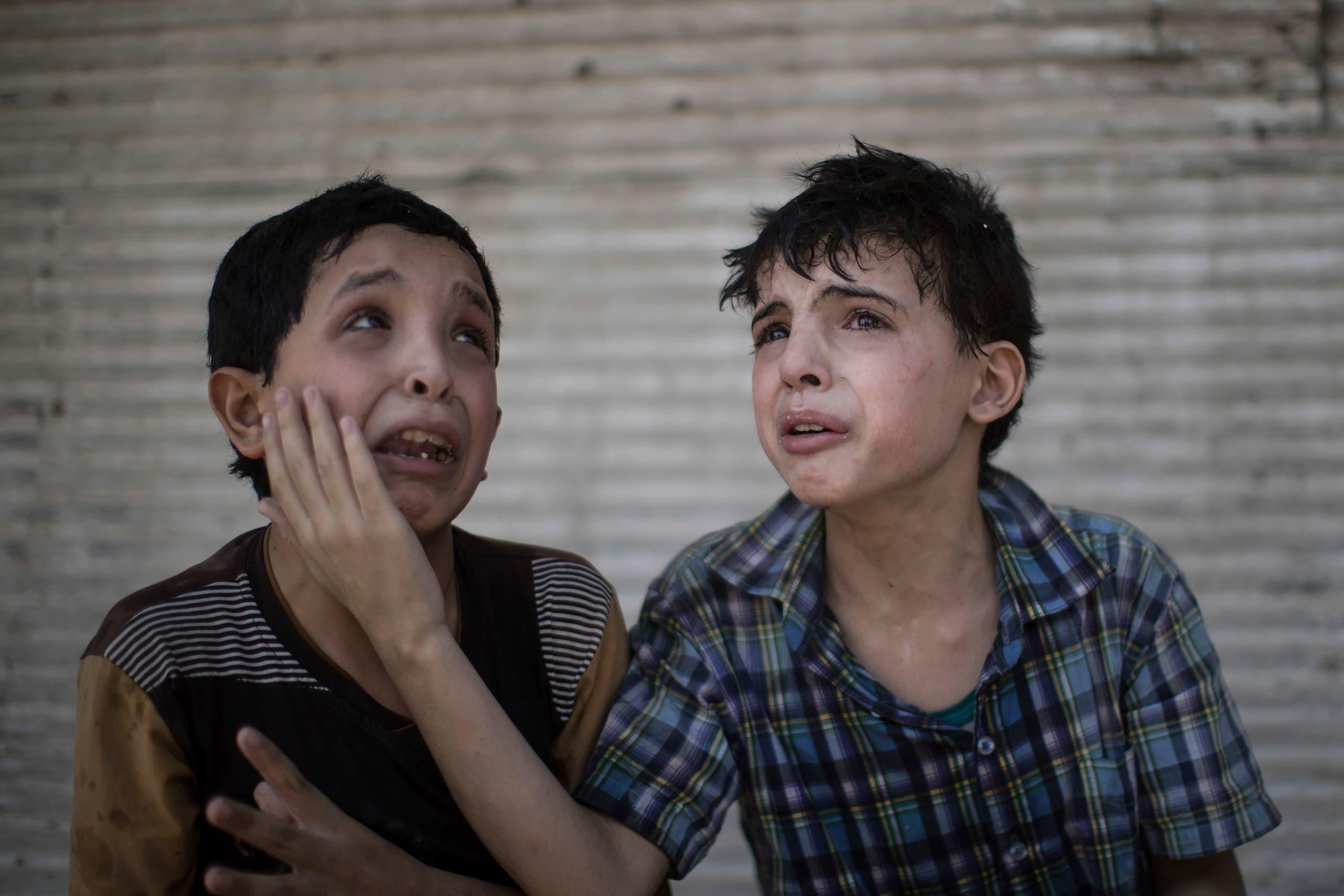 iraqi mosul children ap
