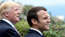 Trump and Macron say will respond strongly to use of chemical weapons in Syria