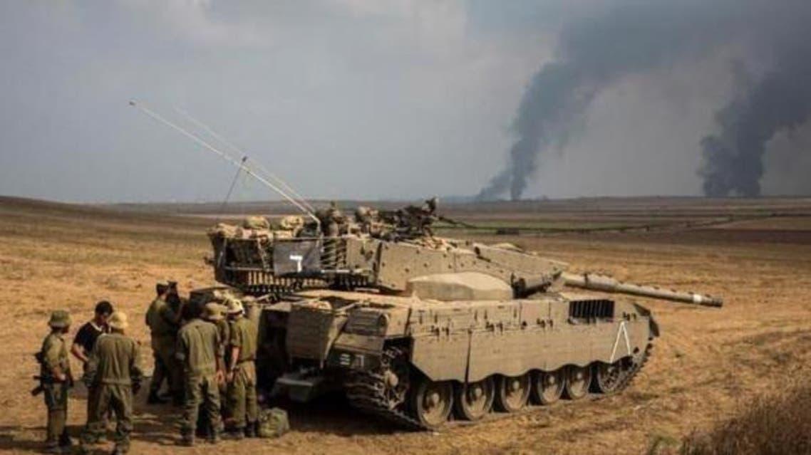ارتش اسرائیل مناطقی در نوار غزه را بمباران کرد