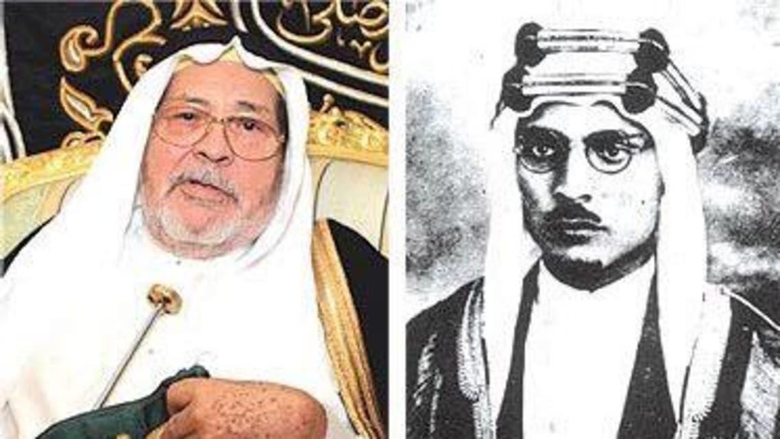 علي اليمين امين الشيبي واليسار عبدالعزيز الشيبي