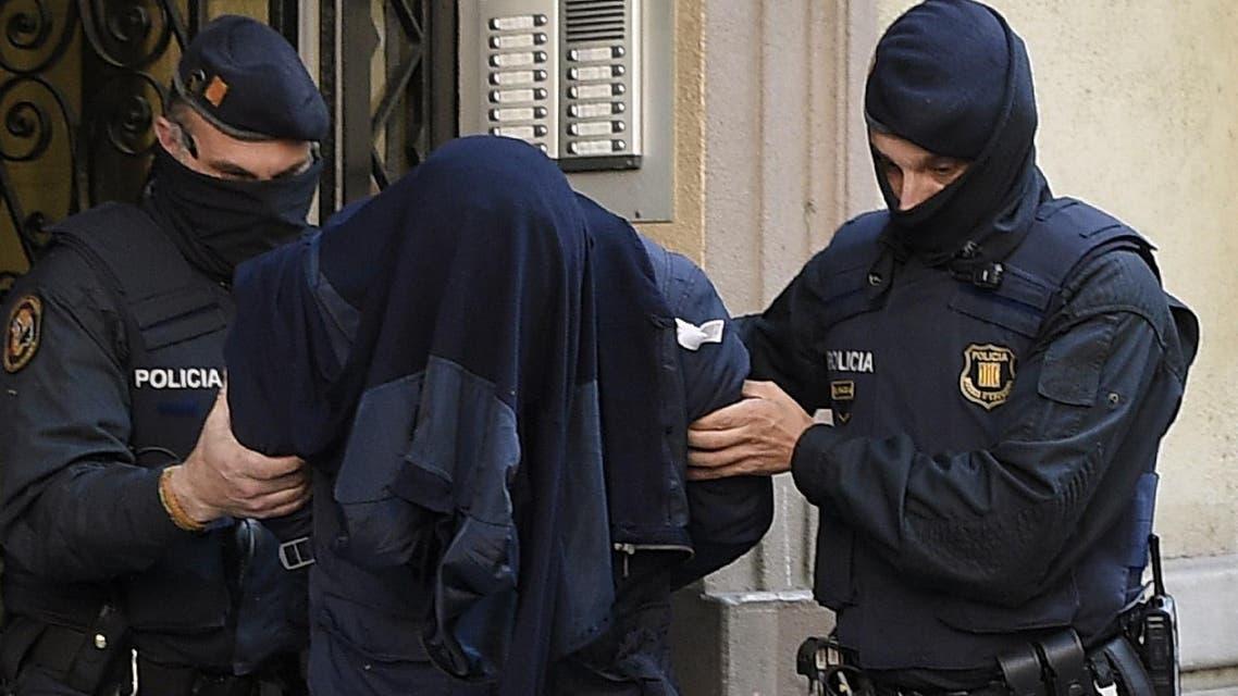 spain police arrest man AFP
