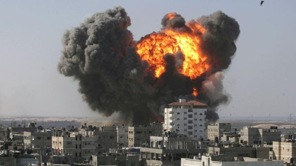 Deir Ezzor strike file photo