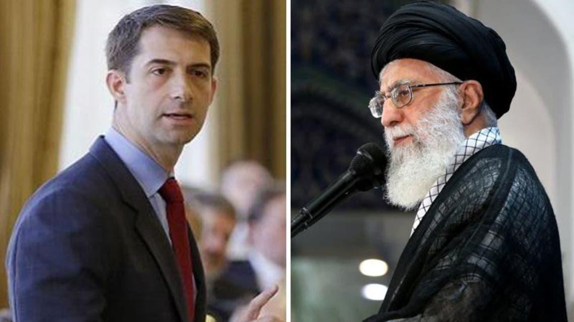 """خامنئي يهاجم سيناتورا أميركيا انتقد """"الاستبداد الفارسي- الشيعي"""