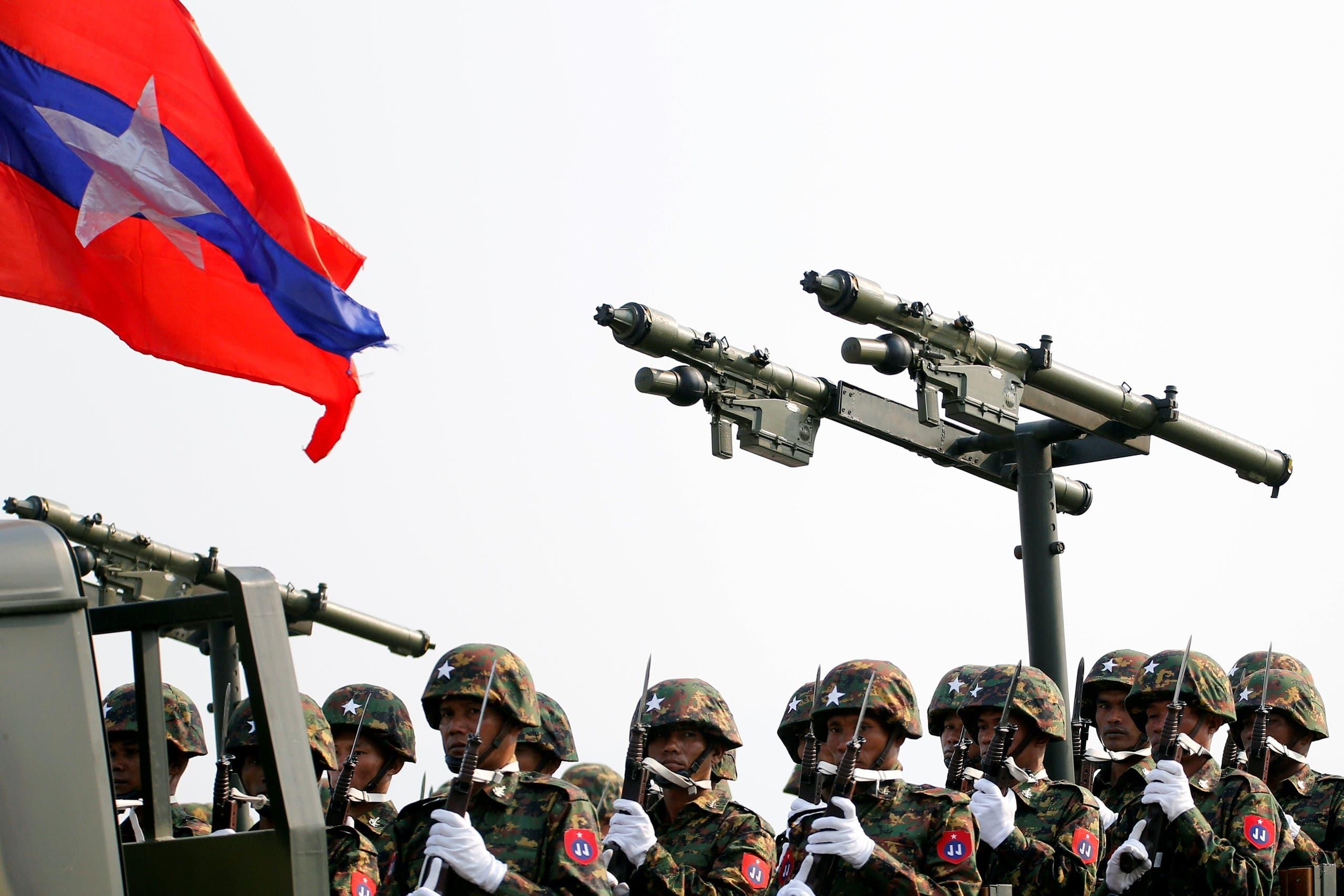 myanmar military reuters
