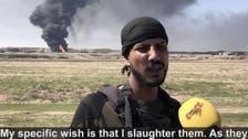 Iraqi policeman, who calls himself 'The Beheader,' decapitated 50 ISIS militants