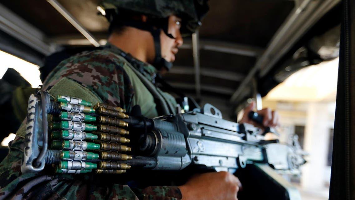 philippine soldier reuters