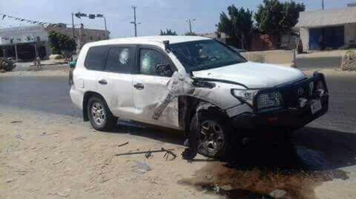 الهجوم على قافلى الأمم المتحدة لفي ليبيا