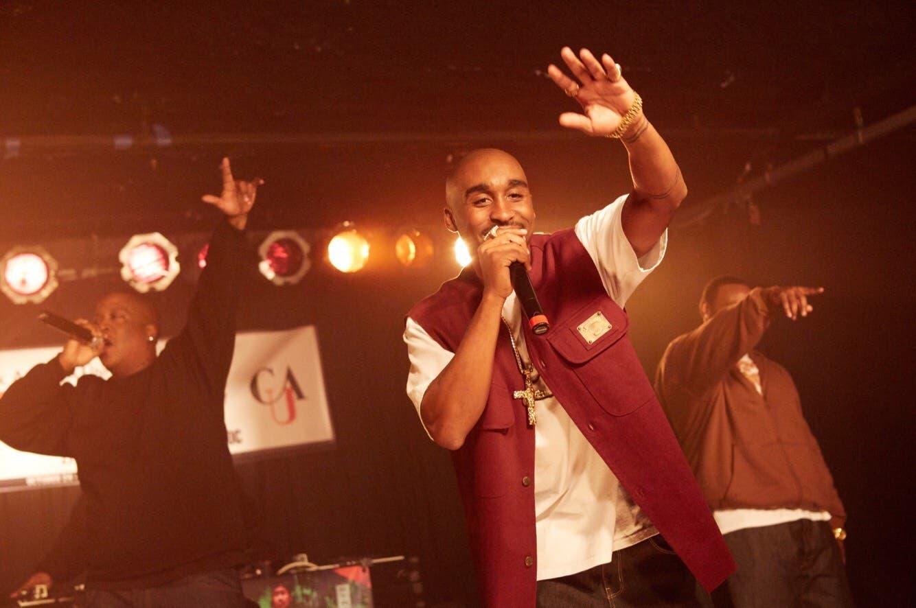 tupac singing movie