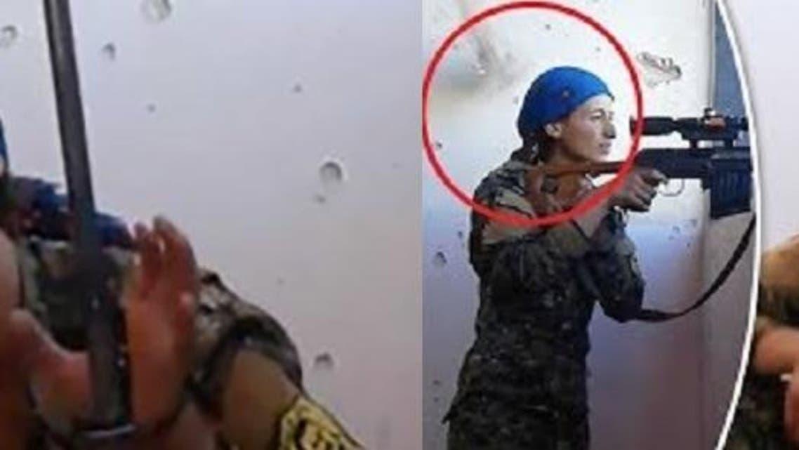 خبر القناصة الكردية انتشر عالمياً، لا لنجاتها من الرصاصة فقط، بل لشجاعتها أمام الخطر