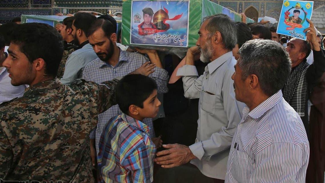 مقتل ستة أفغانيين تابعين لإيران في سوريا