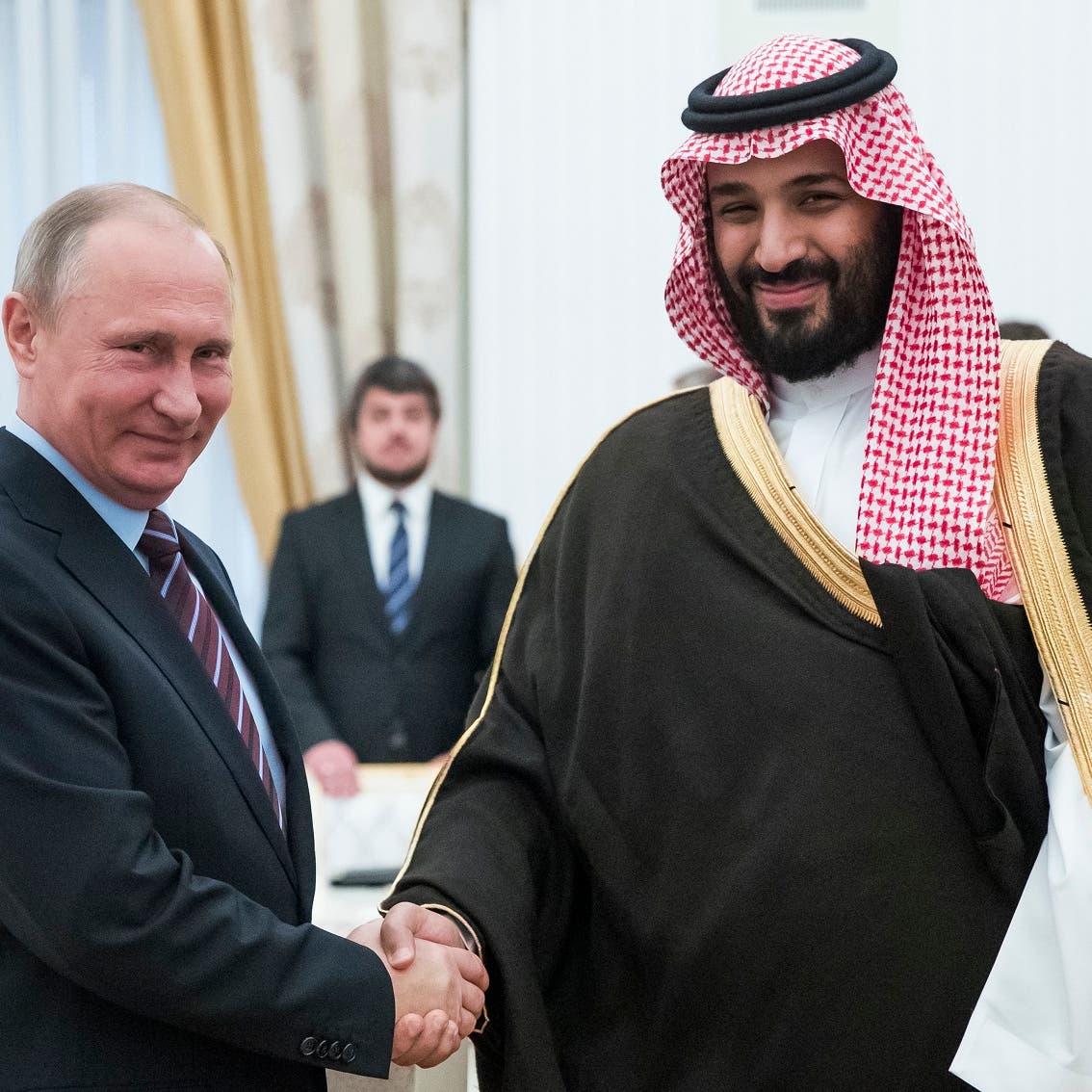 Russia's Putin and Saudi crown prince discuss OPEC+ deal: Kremlin