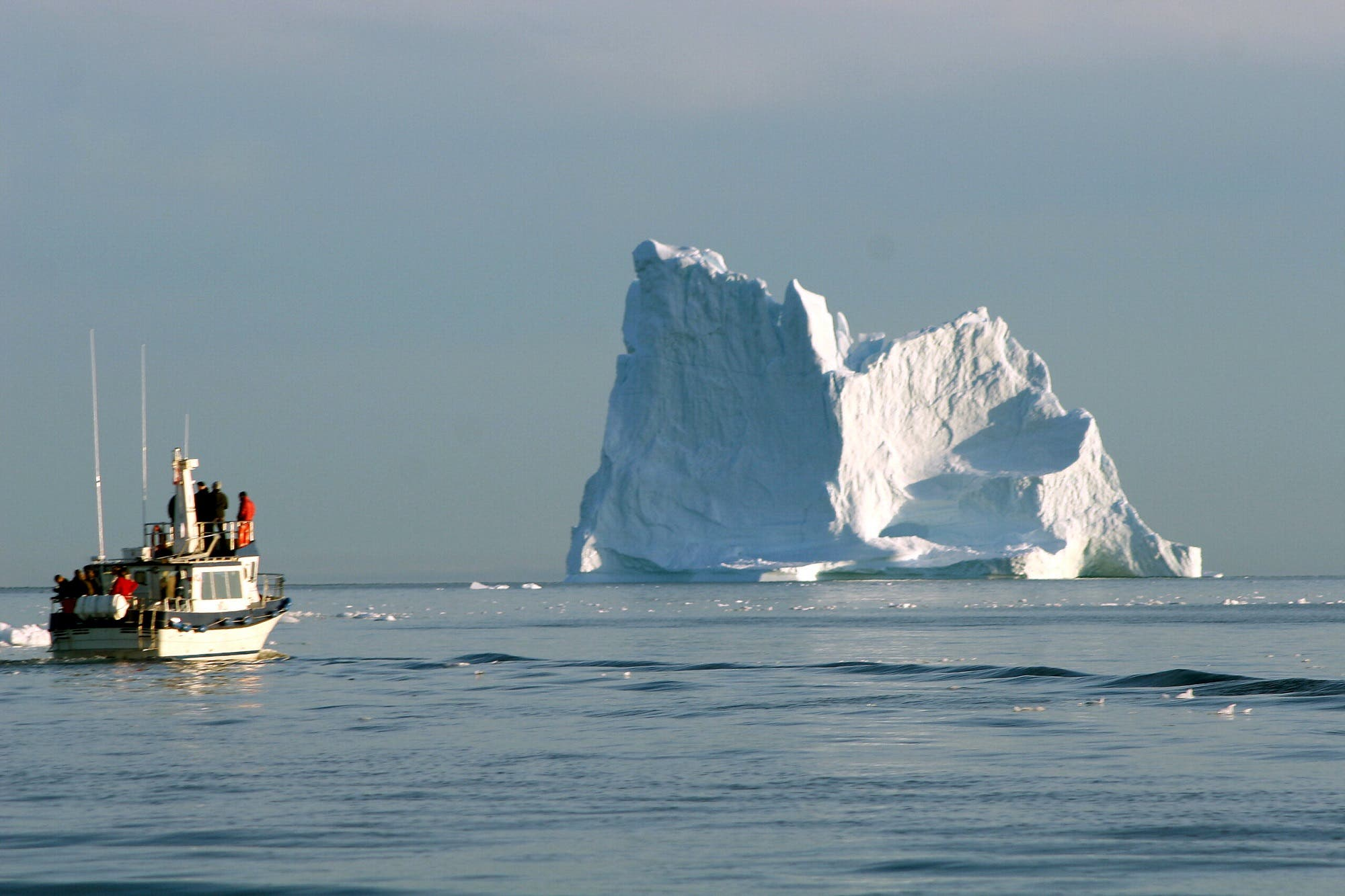 A glacier off Greenland. (File photo: AFP)
