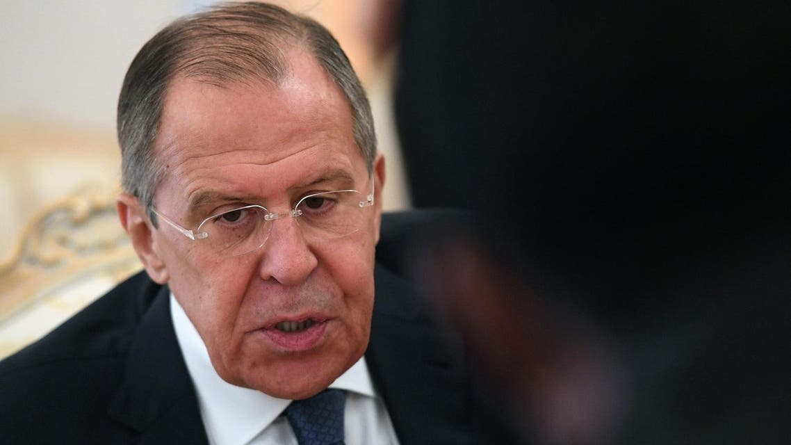 """""""We will react with dignity, in proportion to the real situation that may take place, Lavrov said. (AFP)"""