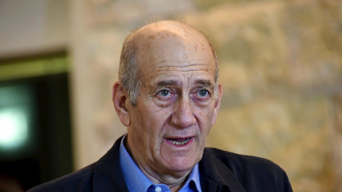 Ehud Olmert, Reuters, 2015