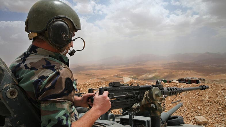Five (5) suicide bombers attack Lebanese army during raids
