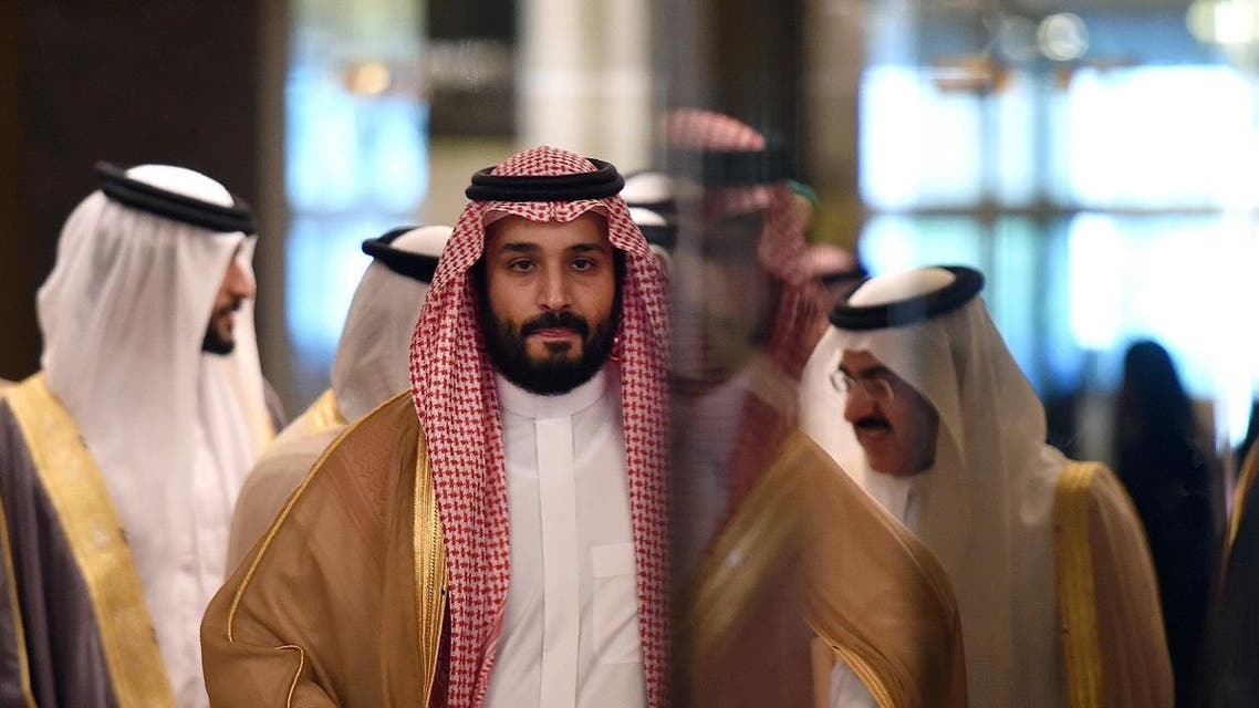 Saudi Crown Prince, Defence Minister and Chairman of the Council for Economic and Development Affairs Mohammed bin Salman arrives for the first meeting of Gulf Cooperation Council (GCC) Economic and Development Affairs Authority in Riyadh on November 10, 2016. (AFP)