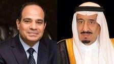 شاہ سلمان  اور السیسی کے درمیان خطے کی صورت حال پر مشاورت