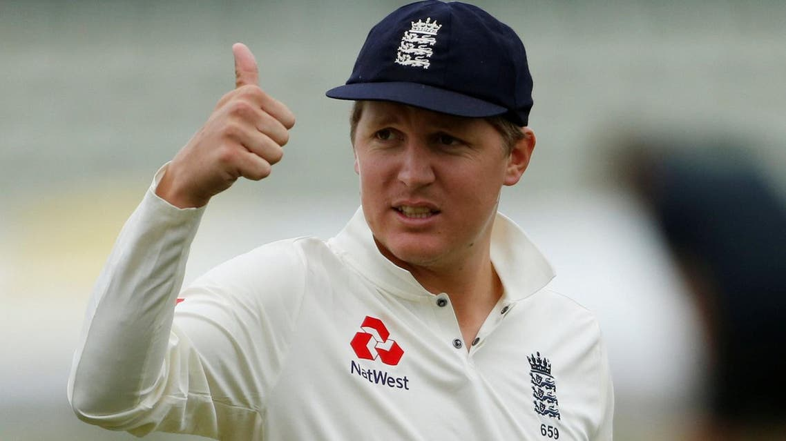 Gary Ballance during gives a thumbs up after the toss in the England Lions vs South Africa  tour match in Worcester, Britain, on June 29, 2017. (Reuters)