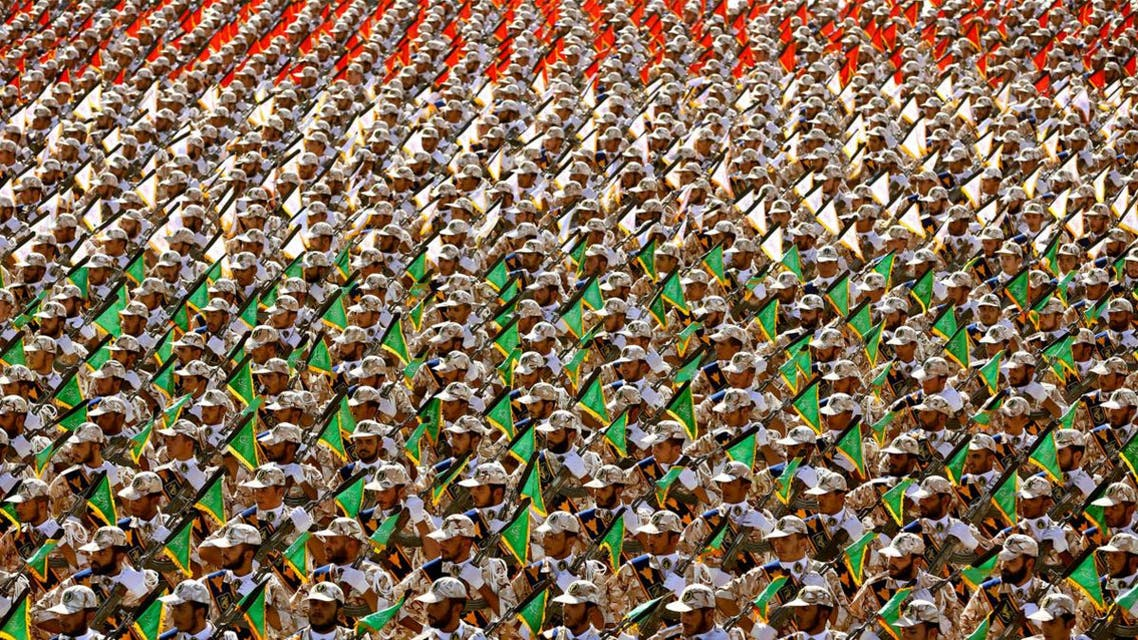 With the Iranian administration severely weakened, it could find itself facing another revolution, which would cause the IRGC to step in. (File photo: AP)