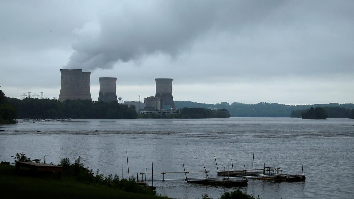 The Three Mile Island Nuclear power plant is pictured from Royalton, Pennsylvania, US, May 30, 2017. (Reuters)