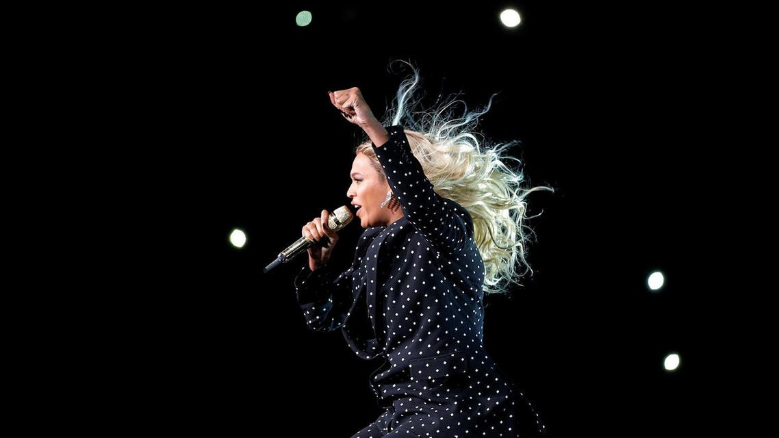 Beyonce performs in Cleveland, Ohio, US November 4, 2016. (Reuters)