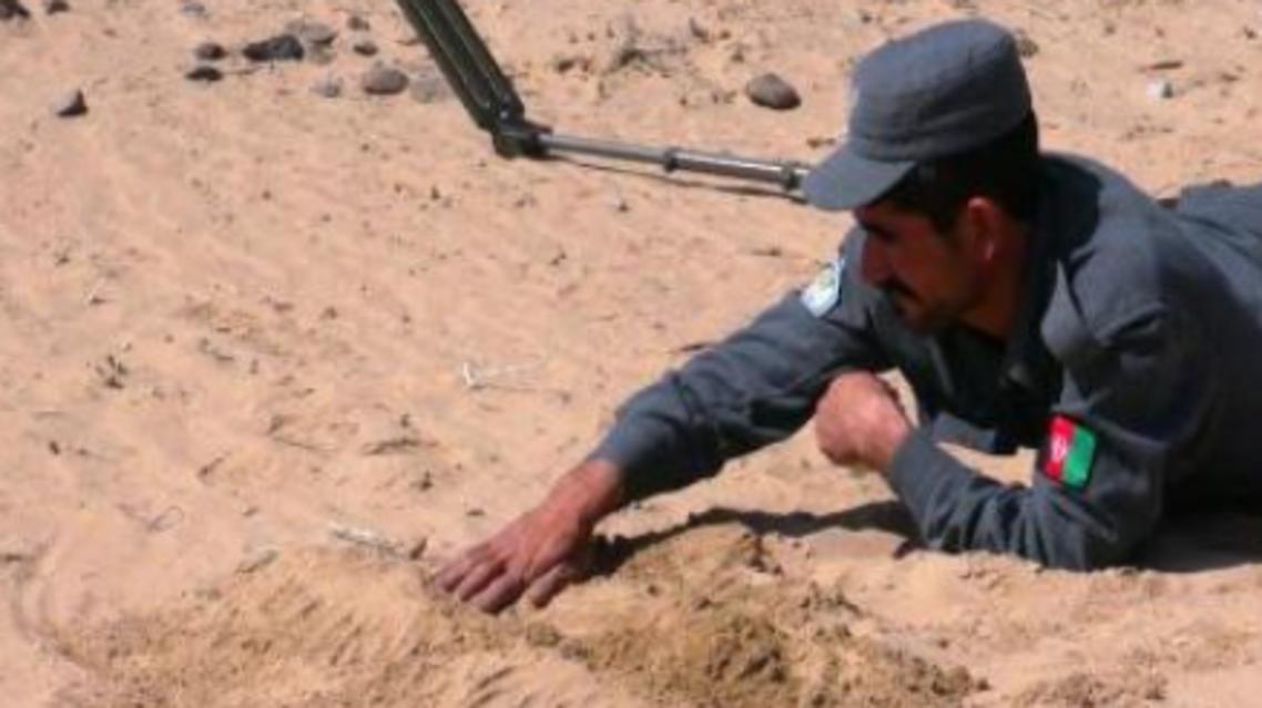 افسر پولیس که در قندهار افغانستان 10 هزار حلقه ماین را به تنهایی خنثی کرد