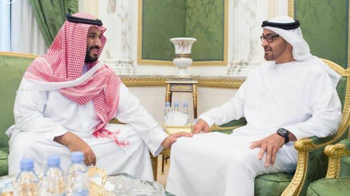 الشيخ محمد بن زايد والأمير محمد بن سلمان