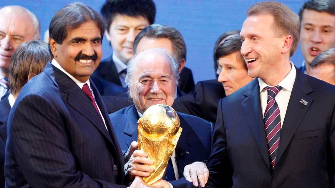 blatter qatar al thani AP