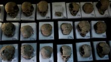 IN PICTURES: Tower of human skulls casts new light on Aztecs