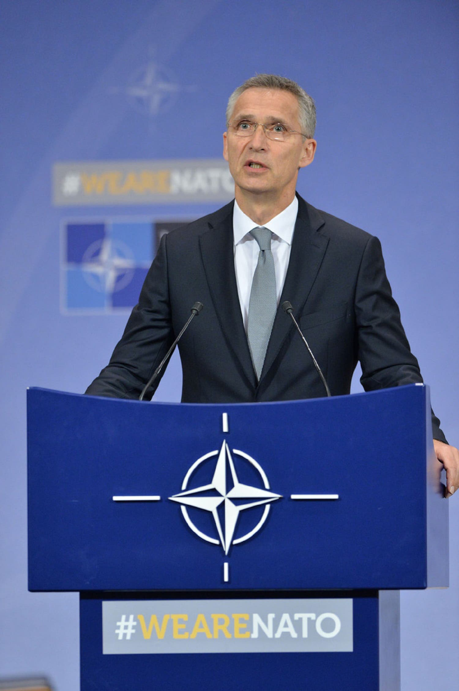 """Addressing possible threats from Russia, NATO Secretary-General Jens Stoltenberg underlined that """"The Alliance stands untied in the face of any possible aggression"""". (Supplied)"""