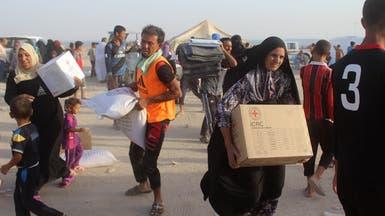 انتحاري بزي امرأة يقتل 14 في مخيم نازحين غرب الأنبار