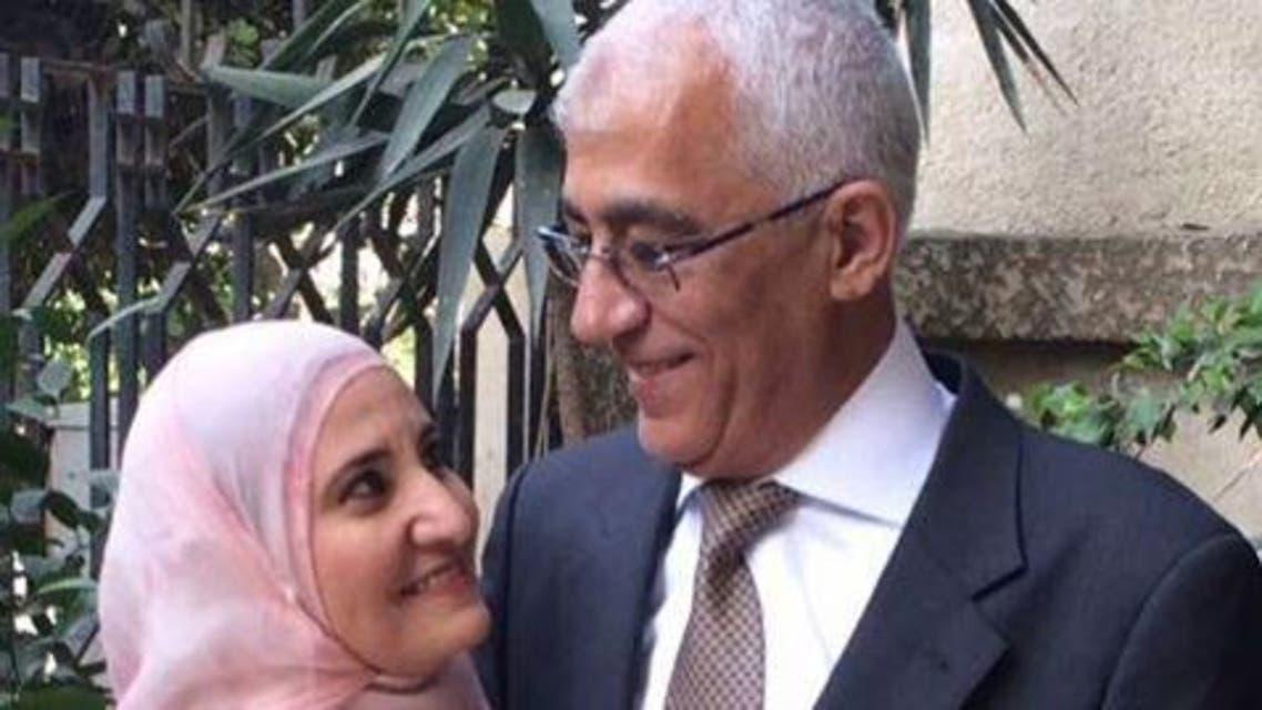 ابنة القرضاوي وزوجها