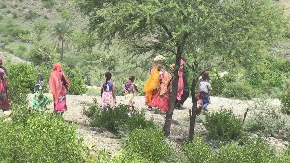 تهجير قرية في محافظة تعز