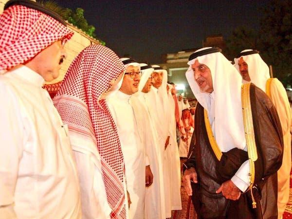 الأمير خالد الفيصل يعزي في وفاة معلمه عبدالواحد طاشكندي