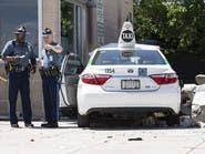سائق تاكسي يفقد السيطرة ويدهس مشاة قرب مطار بوسطن