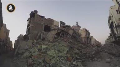 شاهد.. كيف دمر الإرهابيون بنغازي قبل تحريرها؟