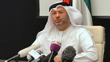 قرقاش: هشاشة الدوحة وراء الترويج لأوهام الخيار العسكري