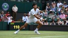 Djokovic into Wimbledon second round as Klizan retires injured