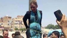 مصر: ھجوم نے خاتون کو تشدد کے بعد کھمبے سے باندھ دیا