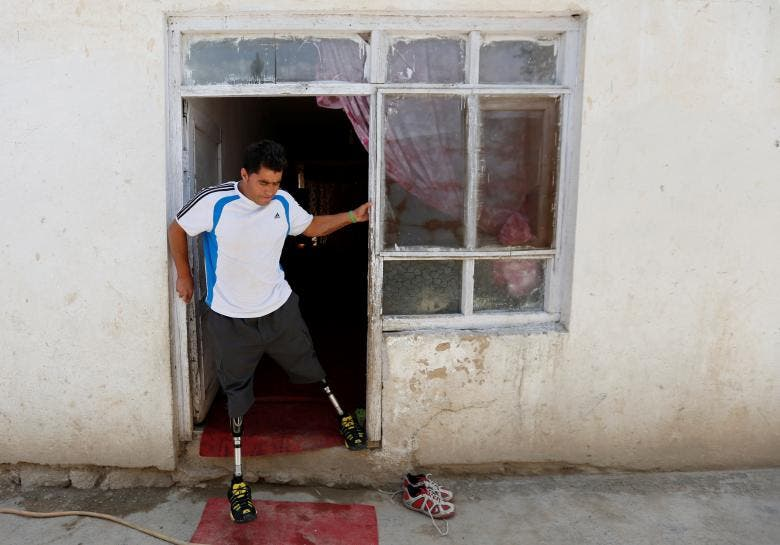 Olympic dreams for Afghan amputees