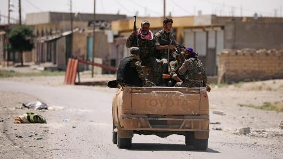 نیروهای سوریه دموکراتیک به شهر قدیمی الرقه نفوذ کردند