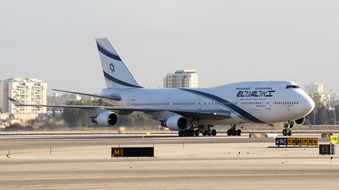 A picture taken on July 19, 2016 shows an El Al Israel Airlines' Boeing 737-800 on the tarmac at the Ben Gurion International Airport near Tel Aviv.