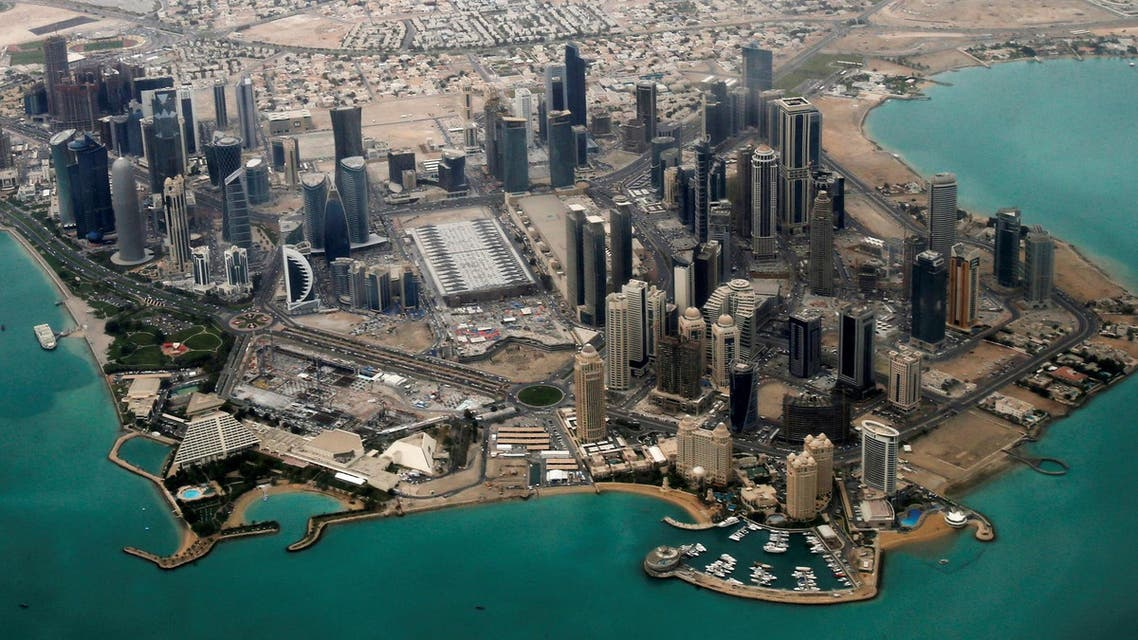 An aerial view of Doha's diplomatic area March 21, 2013. (File photo: Reuters)
