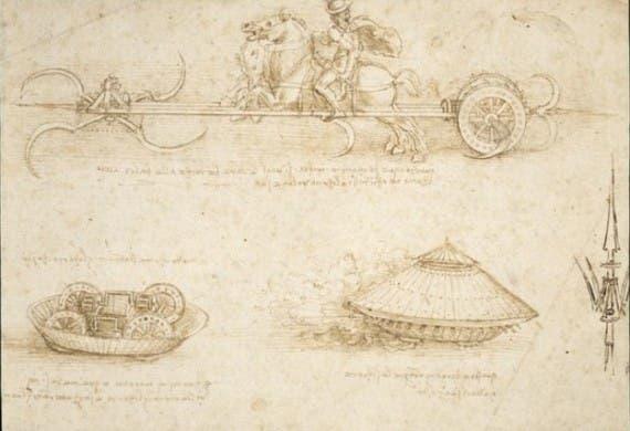 اختراعات ليوناردو دافينشي