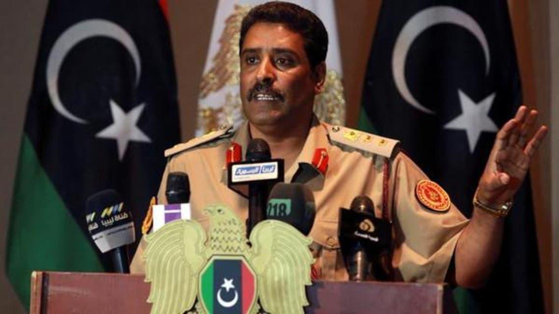 Colonel Ahmad al-Mesmari