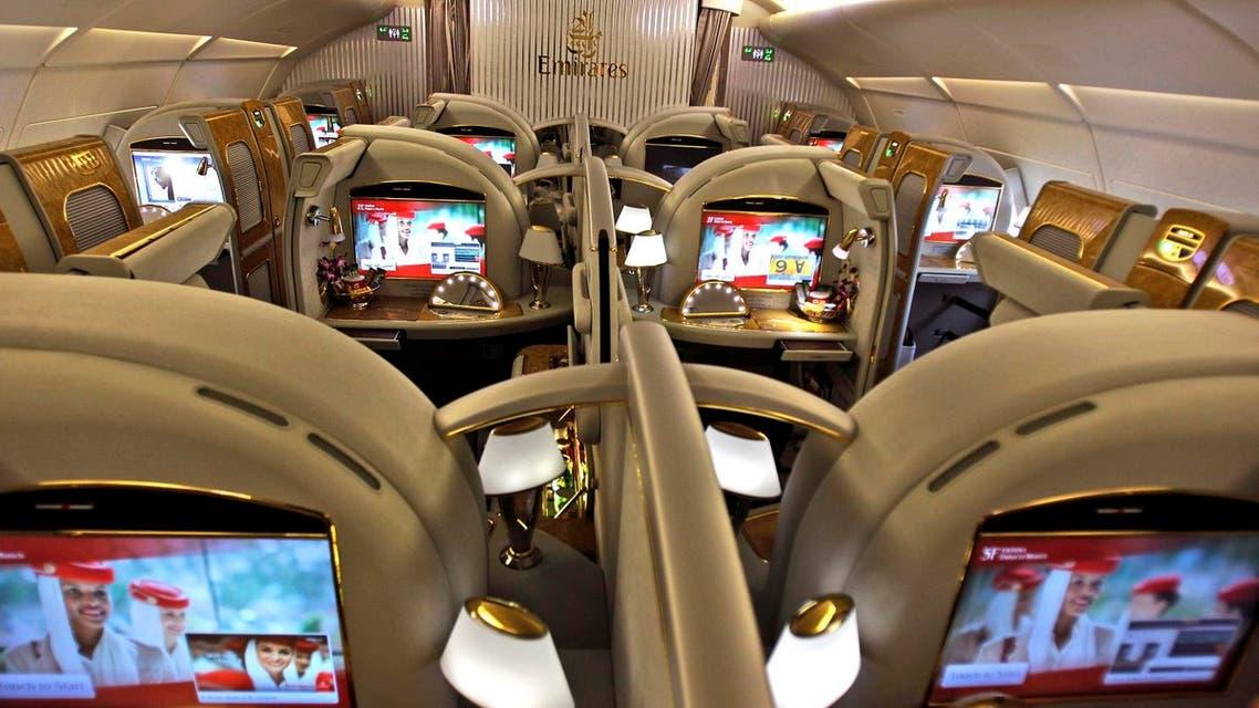 Emirates airline. (AP)