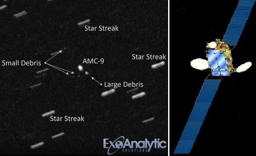القمر الأكبر للاتصالات حين رصدوه لآخر مرة يوم الجمعة الماضي